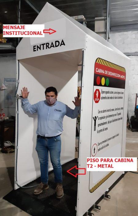 Cabina – Tunel De Desinfeccion Personas – Metal