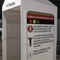 Cabina TIPO1 – Tunel De Desinfeccion Personas – PVC